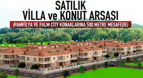 Antalya Döşemealtı'nda satılık 3 villa ve konut arsası!