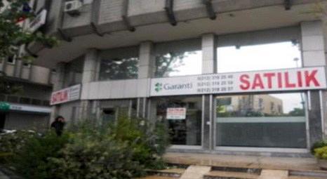 Garanti Bankası, Sefaköy'deki işyerini 2 milyon dolardan satışa çıkardı!