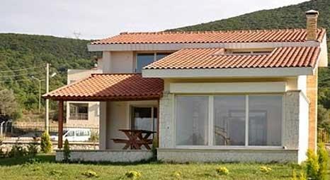 Urla Doğa Park Villaları'nda huzur dolu bir ortamda yeni bir yaşam tarzı sunuluyor!