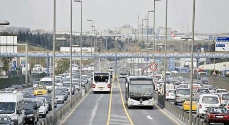 İstanbul'da trafiği toplu ulaşım araçlarının durakları karıştırıyor!
