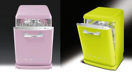 SMEG renkli bulaşık makineleriyle farklı alternatifler sunuyor!