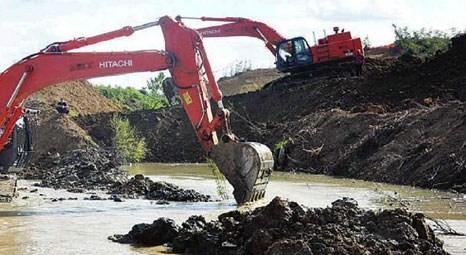 Kocaeli Namazgah Barajı'nda tünele su verildi!
