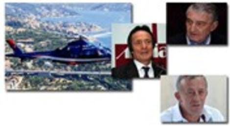 Ali Ağaoğlu, Ahmet Nazif Zorlu ve Rahmi Koç'tan İstanbul trafiğine helikopterli çözüm!