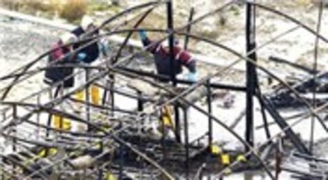 Esenyurt AVM şantiyesinde çıkan çadır yangınında işçiler göz göre göre ölmüş!
