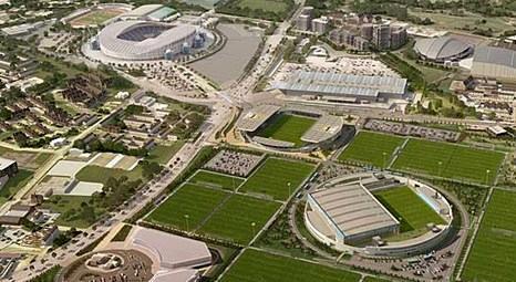 Manchester City'nin yeni tesisleri 200 milyon pounda, 800 bin metrekare alan üzerine inşa edilecek!