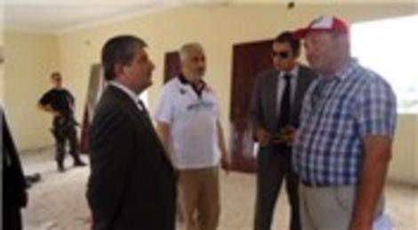 Somali Büyükelçisi, Türk Kızılayı Somali şantiyesini ziyaret etti!