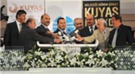 KUYAŞ-Kuyumcukent Gayrimenkul Yatırımları A.Ş, İMKB'de gong çaldı!