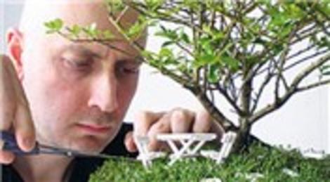 Emre Özberk, Paspas'ın Bahçeleri ismi ile minyatür bahçe markası kurdu!