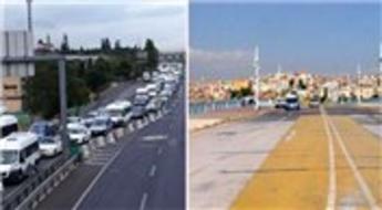 Haliç'teki tadilat bitti ama Galata Köprüsü ortada kaldı!