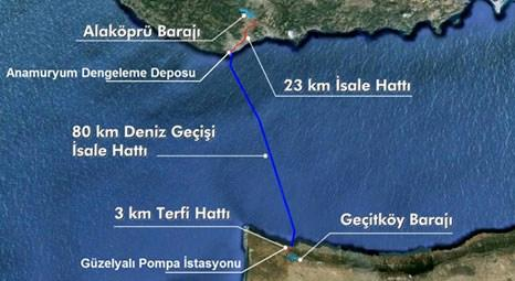KKTC Su Temin Projesi ile Türkiye'den deniz altından su taşınacak!
