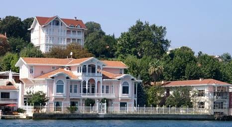 Türkiye'nin en pahalı evleri!