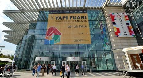 25. Yapı Fuarı Turkeybuild Ankara'yı 27 bin 929 kişi ziyaret etti!