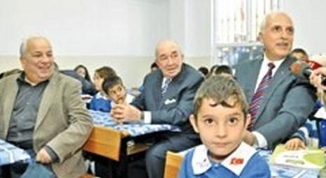 Beykoz Çavuşbaşı'ndaki Türker İnanoğlu İlkokulu iki ayda yenilendi!