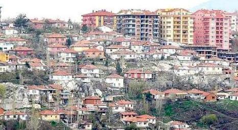 Kentsel dönüşüm projeleri Ekim ayı ile birlikte Ankara'da da başlayacak!