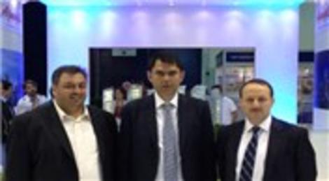 Murat Kurum, Dubai Cityscape Global 2012 Fuarı'nda Ağaoğlu standını ziyaret etti!