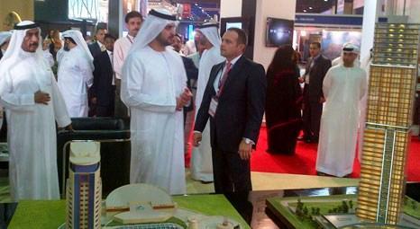 Şeyh Mohammed Rashid Al Maktoum'un oğlu Tahincioğlu Standı'nı ziyaret etti!