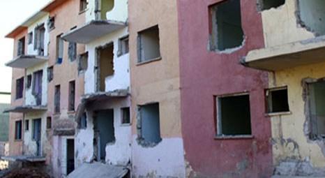 Bingöl'deki kentsel dönüşüm projesi kapsamında deprem konutları yıkılacak!