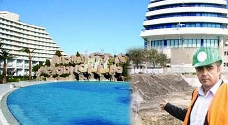 Mehmet Aygün, Hitler sığınağının üzerine 5 yıldızlı otel inşa ediyor!