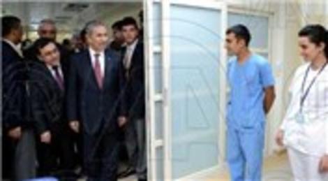 Bülent Arınç, Orhaneli Devlet Hastanesi'nin açılışa katıldı!