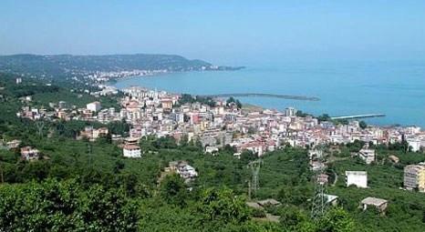 Trabzon'da satılık 2 katlı ev ve çay bahçesi! İcradan!