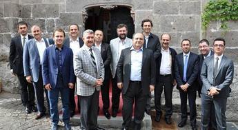 KONUTDER yönetim kurulu Kayseri'de Kınaş'a misafir oldu!