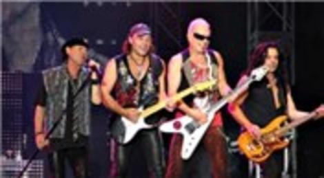 Scorpions grubu İstanbul Küçükçiftlik Park'ta konser verdi!