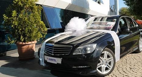 Airfel Güvenli Kombi Kampanyası'nda Mercedes'in sahibi Yücel İnşaat oldu!