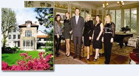 Louis Vuitton'un Asnières'de bulunan tarihi aile evi, Türk misafirleri ağırladı!
