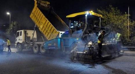 İstanbul Büyükşehir Belediyesi 39 ilçeye 1.7 milyon ton asfalt serdi!