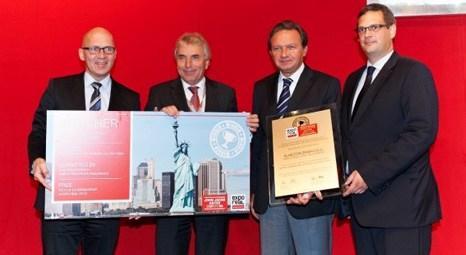 Hilton Garden Inn İstanbul Golden Horn'a John Jacob Astor Competition ödülü!