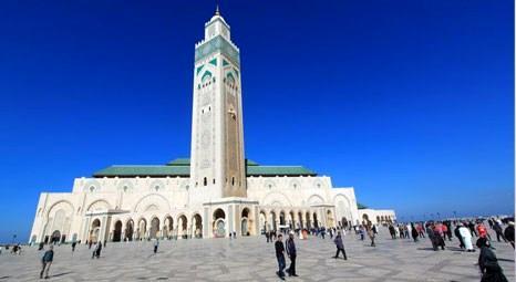 Fas'taki 2. Hasan Camisi'nin minaresi 210 metre yüksekliğinde!