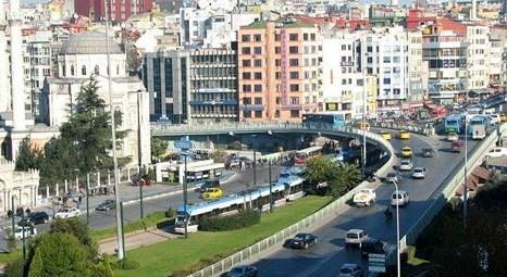 İstanbul Büyükşehir Belediyesi, Aksaray'daki viyadükleri kaldıracak!