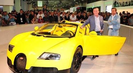 Ali Ağaoğlu, İstanbul Autoshow 2012'de Bugatti'nin 4.3 milyon euroluk Veyron 16.4 Grand Sport modelini inceledi!