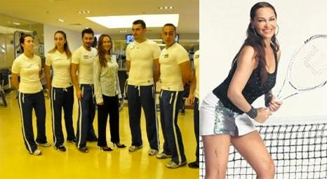 Hülya Avşar, Clubpeb Fitness&Spa adlı spor salonunu hizmete açtı!