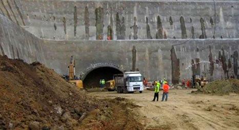 İzmir'deki Konak - Yeşildere Tünelleri'nde ilk 110 metre geçildi!
