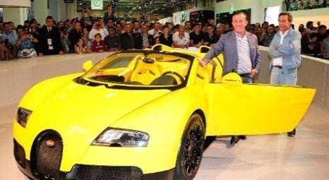 Ali Ağaoğlu, Autoshow İstanbul 2012'de Bugatti Veyron'la ilgilendi ama almadı! Değeri 4.3 milyon euro!