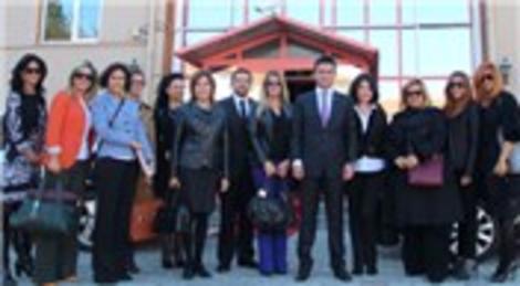 TÜGİAD Ankara Şubesi Kadın Platformu bir köyün alt yapısını tamamlayacak!
