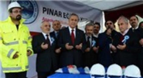 Bülent Arınç, Pınar Eğitim Kurumları'nın temelini attı!