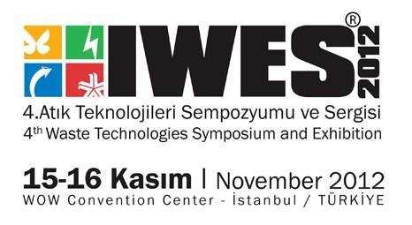 IWES 2012, 15 Kasım'da dördüncü kez kapılarını açıyor! Kentsel dönüşüm atıkları tartışılıyor!