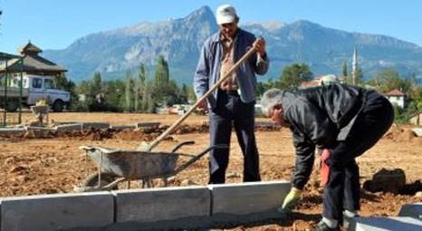 Kepez Belediyesi tarafından Duraliler Mahallesi'nde spor temalı park yapılıyor!