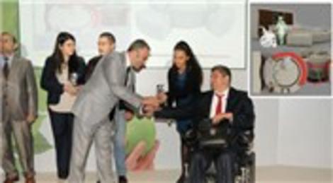 Engelliler için ev mobilyası MOSDER'de birinci oldu!