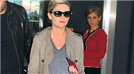 Kirsten Dunst, İstanbul'daki film çekimlerini tamamladı! Londra'ya döndü!