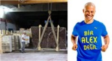 Elazığ'dan çıkan mermerler, Alex De Souza'nın Brezilya'daki evini süslüyor!