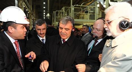 Abdullah Gül, Kastamonu Entegre'nin fabrikasını ziyaret etti!