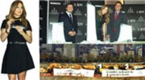 Jennifer Lopez, Metropol İstanbul projesinden satın aldığı dairenin anahtarını teslim aldı!