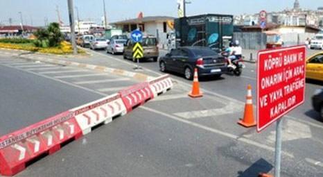 Yeni Galata Köprüsü 27 Kasım gecesi trafiğe kapatılacak!
