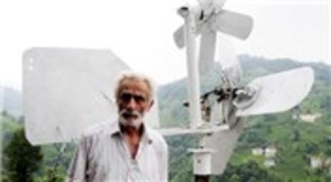 Rizeli mucit Bilal Atasoy bu kez de hava tahmin sistemi icat etti!