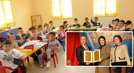 Ali Ağaoğlu Konya'da anaokulu yaptırdı, açılışı Sare Davutoğlu yaptı!