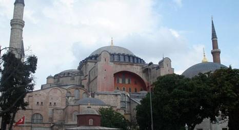 Ayasofya Müzesi'nin ömrü 1500 yıl daha uzayacak! 12 milyon liralık restorasyon!