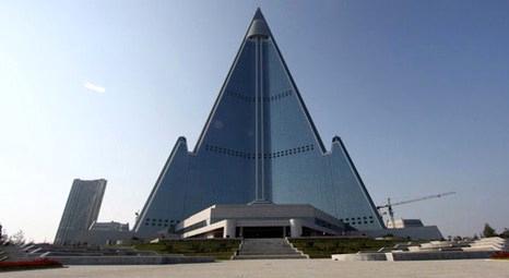 Ryugyong Oteli 2013 yılında tekrar açılacak! Dünyanın en çirkin binası seçilmişti!